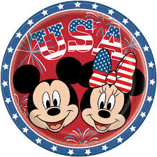 patriotic minnie mouse mickey mouse