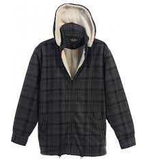 gioberti sherpa flannel removable charcoal