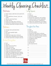 professional house cleaning checklist printable luxury daily weekly monthly cleaning checklist oyle kalakaari