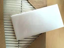 daltile arctic white subway tile semi gloss i decided on semi gloss arctic white subway tile