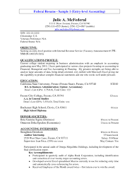 resume template federal resume sample of the entry level accounting for federal job resume template federal resume sample
