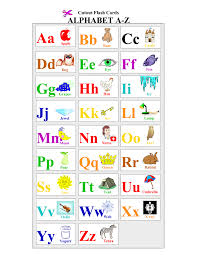 Printable For Children Alphabet And Numbers Learning Letter