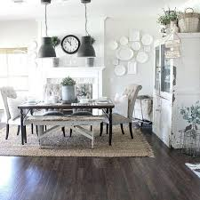 rugs under dining table area rug farmhouse room with kitchen decor decorating licious i love when