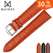 <b>MAIKES</b> HQ watchbands genuine leather strap watch accessories ...