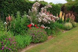Garden Design - flower garden border ideas