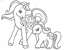 Small Picture Coloring Pages Printable Unicorn Very cute baby unicorn coloring