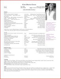 Sample Acting Resume Powerful Visualize Actor Templates Fresh