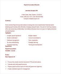 Payroll Resume Node2004 Resume Template Paasprovider Com