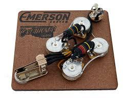 emerson custom dc prewired kit