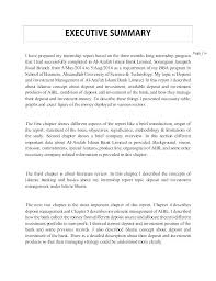 How To Create An Executive Summary In Word Executive Summary Template Word Puebladigital Net