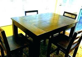 black counter height dining table and chairs set kitchen round glass top triangle furniture