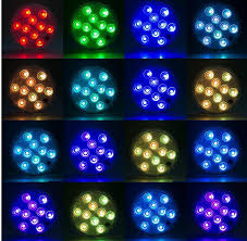 Underwater Lighting Effect 2019 Ip68 Waterproof Battery Operated Led Submersible Light Multi Color Underwater Lights Lamp For Fish Tank Pond Wedding Party From Wangqin8868