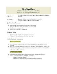 High School Graduate Resume New Student Job Resume Examples Resume