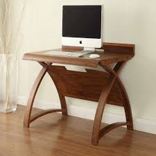 Small office desks Corner Image Of The Jual Curve Pc603900wal Small Office Desk In Walnut In Aboda Decor Jual Santiago Curved Small Office Desk In Walnut pc603900wal