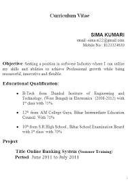 Build My Resume Online Free New Create Resume Online India