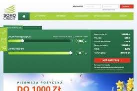 SohoCredit (www.sohocredit.pl) - szybka pożyczka 100 zł - 4000 zł ...