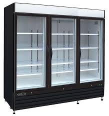 three glass door freezer mvp kgf 72 koolit refrigerants