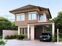 simple two y house design new two story house plan is best suited for meter lot of simple two y house design