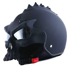 skull motorcycle helmet amazon com