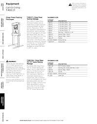 Weatherhead Hydraulic Fittings Chart Equipment Coll O Crimp T 400 17 Manualzz Com