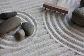 zen garden raje it s all still very buddhist it s here and now its shedding ego and it s a great design for your backyard think of it as your quiet