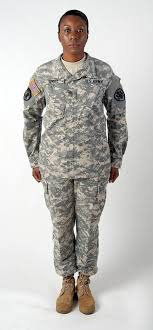 Acu Alternate Size Chart Army Uniform Designed For Women Now For All News Stripes
