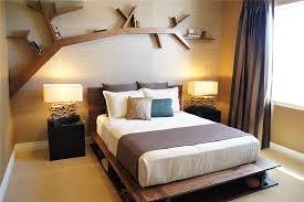 Shelves For Bedroom Walls Lovely Decorative Wooden Tree Bookshelf Design Inspiration In Teak