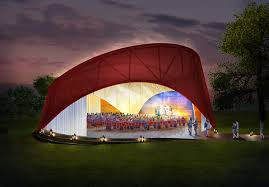 What is a pavilion Swoosh Pavilion Rendering Of The Center Arts The New York Times Pavilion Planned For New Arts Center In Southampton Village The