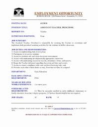 Updated Resume Templates Best Resume Examples For Daycare Worker Valid Resume Template Examples
