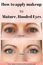 how to apply makeup to hooded eyes