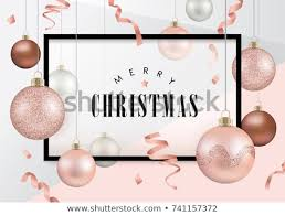 Christmas Design Templates Free Christmas Design Template Christmas Balls Rose Stock Vector Royalty