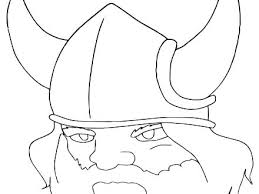Minnesota Vikings Coloring Pages To Print Out Jokingartcom
