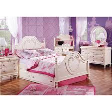 disney bedroom furniture. disney princess pearl 6 pc full panel bedroom :: rooms to go kids - furniture m