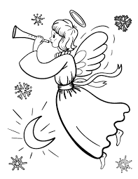 Small Picture Angel Coloring Pages To Print Coloring Coloring Pages