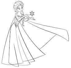 Immagini Da Colorare E Stampare Elsa Frozen Disegni Da Colorare