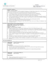sap mm resume 4 years experience 4 2 sap mm resume for 3 years experience