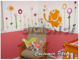 wall decals canada kids baby elephant