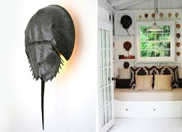 horseshoe crab limule sconce remodelista on horseshoe crab wall art with interior design announcing the 2015 remodelista considered design