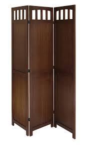 Folding Screen Winsome 3 Panel Wood Folding Screen By Oj Commerce 94370 10378