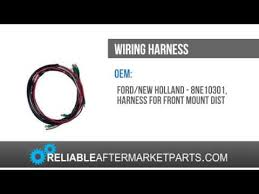 8ne10301 new ford tractor 2n 8n 9n front mount wiring harness for 8ne10301 new ford tractor 2n 8n 9n front mount wiring harness for 12v alternator