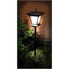 318722 130cm solar garden lamp post 2
