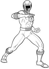 Small Picture Power Rangers Ninja Storm Defending Earth Coloring Page Color Luna