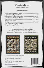 Smokey River Quilt Pattern 76 X 97 By: & Smokey River Quilt Pattern 76