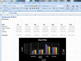 To Resize An Embedded Chart Excel Application For Accounting Principles Creating A New