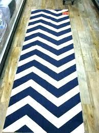 black and white chevron rug runner target