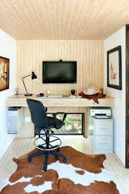 unico office chair. Contemporary Home Office Ideas For Small Space With Built In Desk And Unico Chair Plus Cowhide Rug Filing Cabinet Also Wood Ceiling White