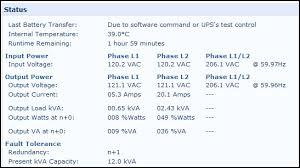 L1 And L2 Apc Symmetra Lx 16000 Sya8k16pxr Phase L1 And L2 Spread Load