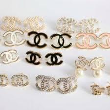 chanel logo earrings. cc earrings fake are my flea market find chanel real or logo