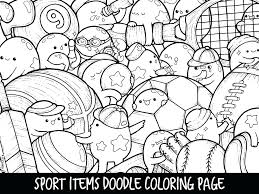 M M Candy Coloring Pages M M Candy Coloring Pages Sport Items Doodle