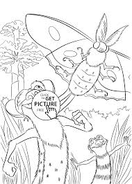 Small Picture Buck from Ice age coloring pages for kids printable free